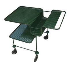 1960s Metal Serving Cart by Mathieu Mategot  France  c. 1960s