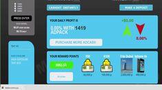 Earnevery30minutes Старт проекта Покупка первых рекламных пакетов в  про...