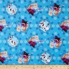 TISSU patchwork enfant reine des neiges by Springs Fabric : Tissus pour…