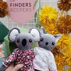 Beccalalia dolls visiting Finder Keepers Market Sydney AW18