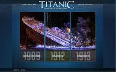 Explore Titanic through interactive features about its construction and its ill-fated maiden voyage here: http://histv.co/2H6