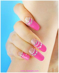 ...  for this spring/summer bright color nails are a huge trend. Description from allforfashiondesign.com. I searched for this on bing.com/images
