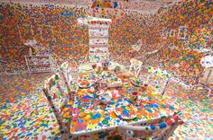 Yayoi Kusama: Look Now, See Forever Gallery of Modern Art installation view