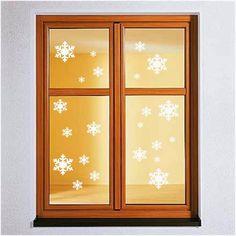 Great Wandtattoo x Schneeflocke Fensteraufkleber Sticker Winter Weihnachten deko eBay