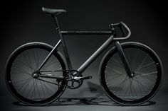 6061 Black Label - Matte Black from State Bicycle Co.
