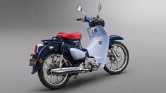 After announcing the return of the iconic Monkey mini-bike, Honda is bringing back another fun, compact retro bike, the Super Cub! The popular Super Cub bike is one Honda Cub, Motos Honda, Honda Bikes, Mini Bici, Japan Motors, Small Motorcycles, Trike Bicycle, Honda Motors, Retro Bike