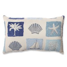 Catalina Ocean Throw Pillow
