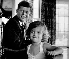 John and Caroline Kennedy - 1960