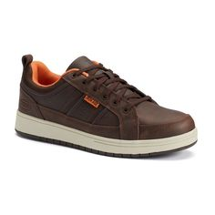 Iron Age Board Rage Men's Steel-Toe Shoes, Size: medium (9.5), Brown