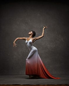 #DanceSpam... oh my goodness. Her poise, this pose, that dress... I'm in awe. | 15+ Breathtaking Photos Of Dancers In Motion Reveal The Extraordinary Grace Of Their Bodies