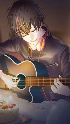 Anime Boy Sketch, Anime Art Girl, Cool Anime Guys, Anime Love, Chica Anime Manga, Kawaii Anime, Dream Anime, Animated Love Images, Girly Drawings
