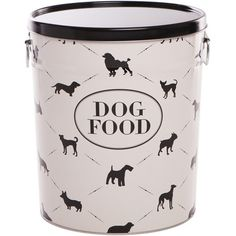 Town & Country Dog Food Canister