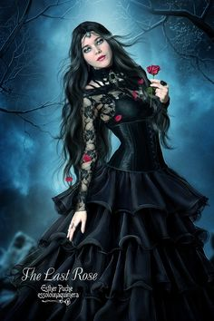 The Last Rose by EstherPuche-Art.deviantart.com on @deviantART