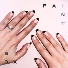 Less is More #paintboxmani #nails #nailart