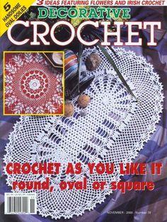 Decorative Crochet November 2000 Magazine 78 - DEHolford - Picasa Web Albums