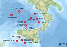 I vulcani sottomarini italiani sono concentrati in due gruppi ben distinti, situati rispettivamente nel mar Tirreno meridionale e nel canale di Sicilia. Tra tutti questi vulcani, sicuramente il più… Volcanoes, Earth Science, Terra, Sicily, Vintage, Maps, Natural Phenomena, Geology, Geography