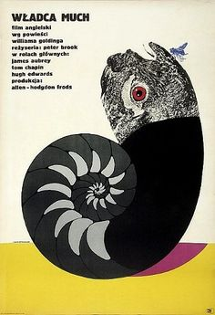 Lord Of The Flies - Polish Film Poster