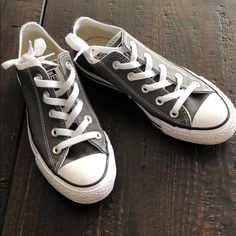 514cec6ab91 Converse Shoes | Grey Converse Euro 36.5 | Color: Gray/White | Size: 6.5