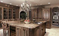 Crystal Cabinetry - traditional - kitchen - other metros - by Kleppinger Design Group, Inc.