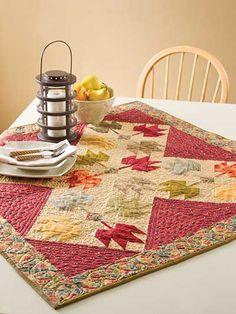 Quilting - Wall Quilt Patterns - Seasonal Patterns - Splendor in Fall
