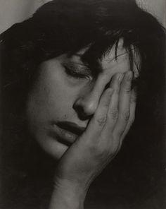Anna Magnani / Philippe Halsman (American, born Latvia. 1906–1979) / 1906-59 / Gelatin silver print / MoMa