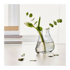 Whimsy for the table.  Would look sweet with just some green coming out of it.  VÅRVIND Vase, set of 2  - IKEA