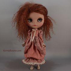 Rose Balloon Dress for Blythe