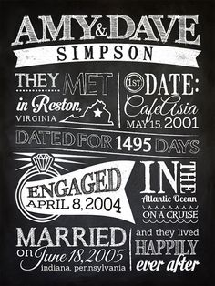 Check out this printable diy chalkboard wedding invitation template datingengagementwedding infographic sign printable diy chalkboard vintage custom sign by sangria studios on etsy solutioingenieria Choice Image