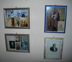 Una parete del mio studio: tra Camille Claudel e Silvio Pellico...