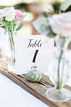 centerpiece table numbers #tablenumbers @weddingchicks