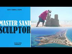 Sandcastle Shaping - Carving EPIC  buildings from a trashcan block! South Padre Island, Buildings, Castle, Carving, American, Parents, Wood Carvings, Castles, Sculptures