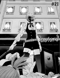 "Manga ""Gangsta"", Erica"