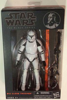 Hasbro Star Wars Black Series 6 Inch Action Figure Clone Trooper  #14  #Hasbro