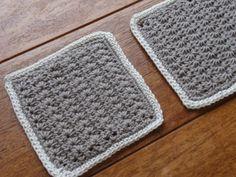 編み図あり☆毛糸とかぎ針があればすぐ始められます♡かぎ針編みで作るコースター10選