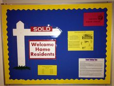 Welcome home, RA boards, bulletin boards, fall 2014, Texas Wesleyan