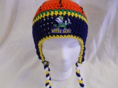 64fda9163db 31 Best Notre Dame Football Crochet Items I Have Made images
