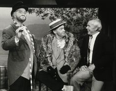 Bob Hope and Red Skelton with Johnny Carson on The Tonight Show, December 21, 1978.