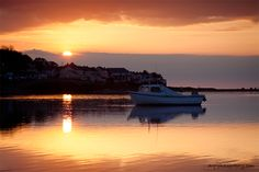 Instow At Dusk