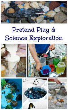 Play & Science activities | preschool & elementary STEM ideas | science experiments