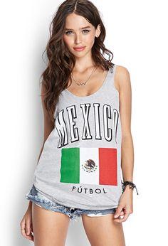Mexico Futbol Tank Top   FOREVER21 #F21Score