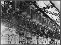 Zeppelins under construction