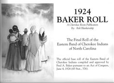 The Official Base Roll of the Eastern band of Cherokee Indians