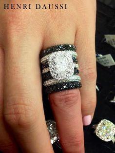 Henri Daussi  #diamond #rings #jewelry