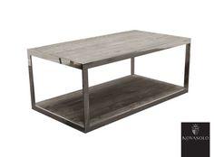 Røft og rustikt Old Amsterdam sofabord produsert i gråvasket resirkulert eik kombinert med et moderne understell i rustfri stål. Hvert enkelt bord vil være helt unikt og ha sitt eget særpreg i form av fargevariasjoner, sprekker og andre tegn på livets tidligere liv.Mål:Lengde 110 cmBredde 60 cmHøyde 45 cmMateriale:Bordplate i resirkulert gråvasket eikRamme i rustfri stålVedlikehold:Vi anbefaler sterkt at møbelet regelmessig vedlikeholdes og til dette anbefaler vi bruk avAnt...
