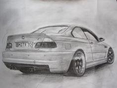 BMW M3 Bmw E39, E46 M3, Carros Bmw, Sports Cars Lamborghini, Colouring Pages, Coloring, Bmw 7 Series, Male Male, Car Sketch