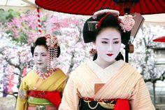 Naozome and Ichiteru   Maiko of Kamishichiken, Kyoto's oldes…   Flickr - Photo Sharing!