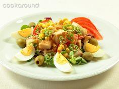 Insalata di pollo alla cilena: Ricette Cile   Cookaround