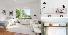 No es necesario vivir en una casa grande para tener un hogar confortable. Sin embargo, los sitios reducidos representan un desafío a la hora de organizar el espacio.