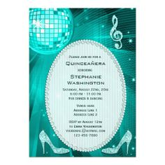 =>quality product          	Disco Ball and Sparkle Heels Teal Quinceañera Personalized Announcement           	Disco Ball and Sparkle Heels Teal Quinceañera Personalized Announcement you will get best price offer lowest prices or diccount couponeReview          	Disco Ball and Sparkl...Cleck Hot Deals >>> http://www.zazzle.com/disco_ball_and_sparkle_heels_teal_quinceanera_invitation-161298122638827270?rf=238627982471231924&zbar=1&tc=terrest