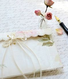 A pen and paper. The most valuable treasure I keep hunting for!  ;-) ♡